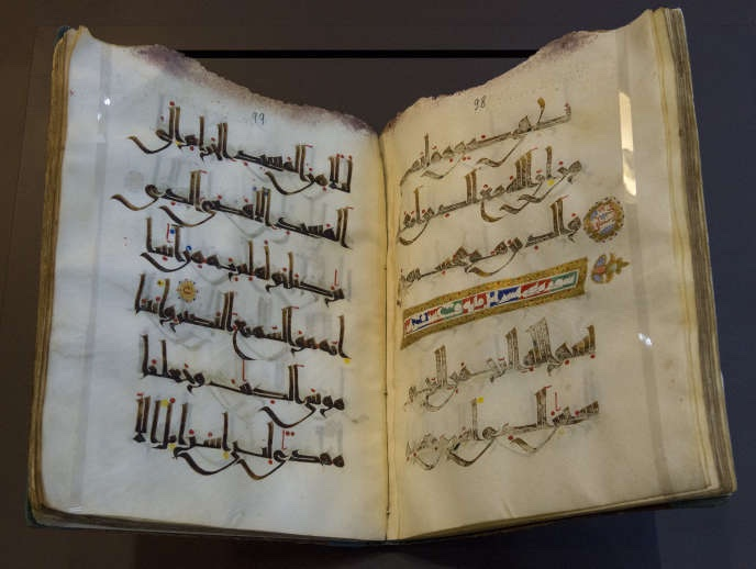 People often think that the earliest Qur'an manuscripts have no diacritical dots. Actually, that's a mistake.. To my view, the earliest ms completely devoid of dots is likely from the 9-10th CE from Maghreb (that's according to the notice, but it would need to check every page..) https://t.co/a9jScuoa0h