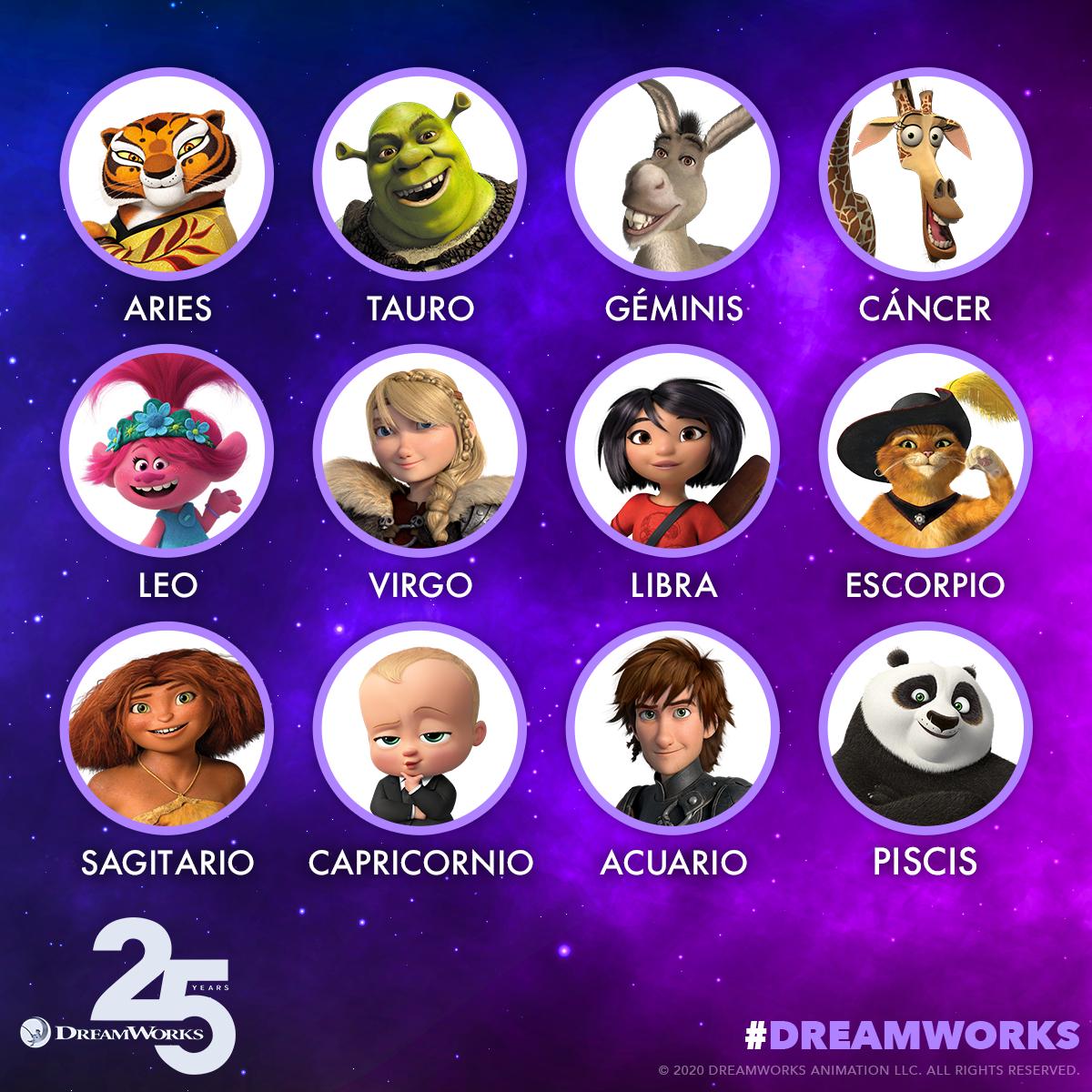 Horóscopo de Cáncer: Evita cualquier aventura aterradora en la que tus amigos animales intenten convencerte 🦒 ¿En qué personaje de #DreamWorks eres? https://t.co/rjnixewywq