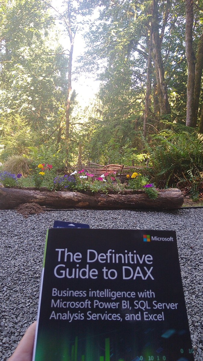 Some light reading outdoors... #alwayslearning #microsoftlife #DAX @marcorus @FerrariAlberto https://t.co/h9nBvvjhh2