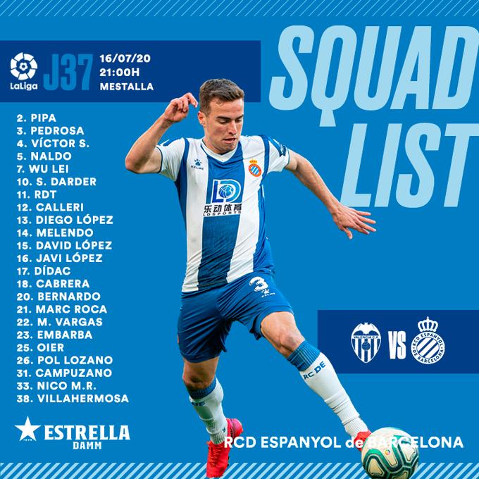 Ec_EifrWkAIvpcg?format=png&name=small Víctor Gómez fuera de la convocatoria para jugar ante el Espanyol - Comunio-Biwenger