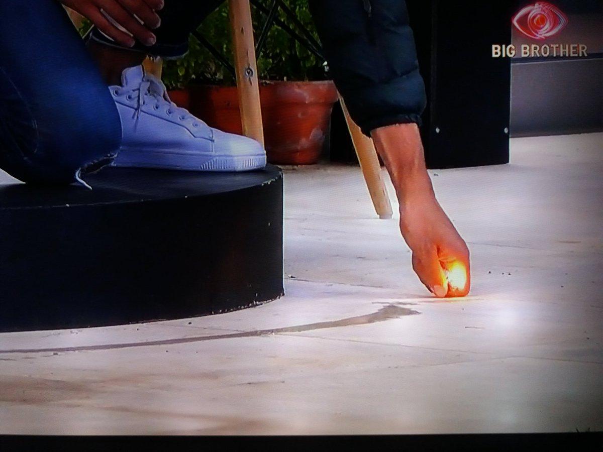 A mão de P #BB2020TVI o incendiário https://t.co/GanTYfYci9