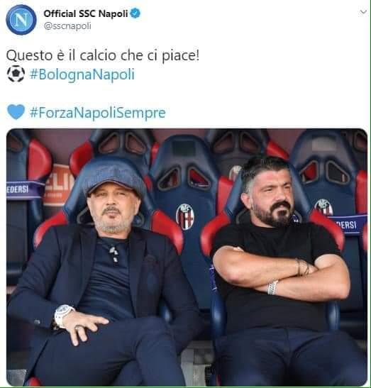 #BolognaNapoli