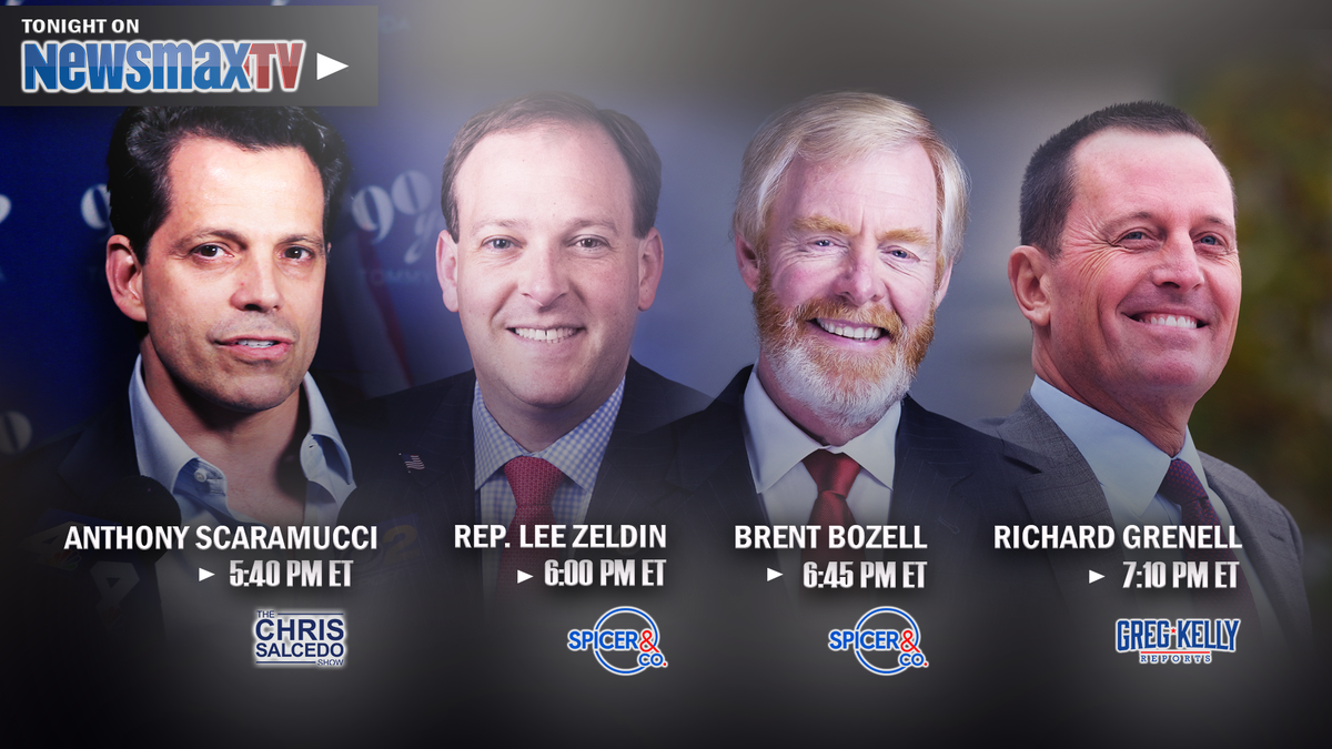 PROGRAM ALERT 🚨:  • Anthony @Scaramucci joins The Chris Salcedo Show at 5:40 PM ET • @seanspicer welcomes @RepLeeZeldin, @BrentBozell and more at 6:00 • @RichardGrenell joins @gregkellyusa at 7:00  ONLY ON Newsmax TV. WATCH LIVE: https://t.co/VlT7z8drtO https://t.co/PGob54pyzT