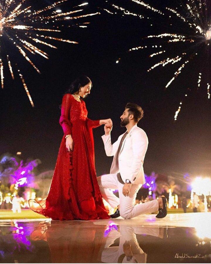She Said Yes 🧿 #FalakSarah