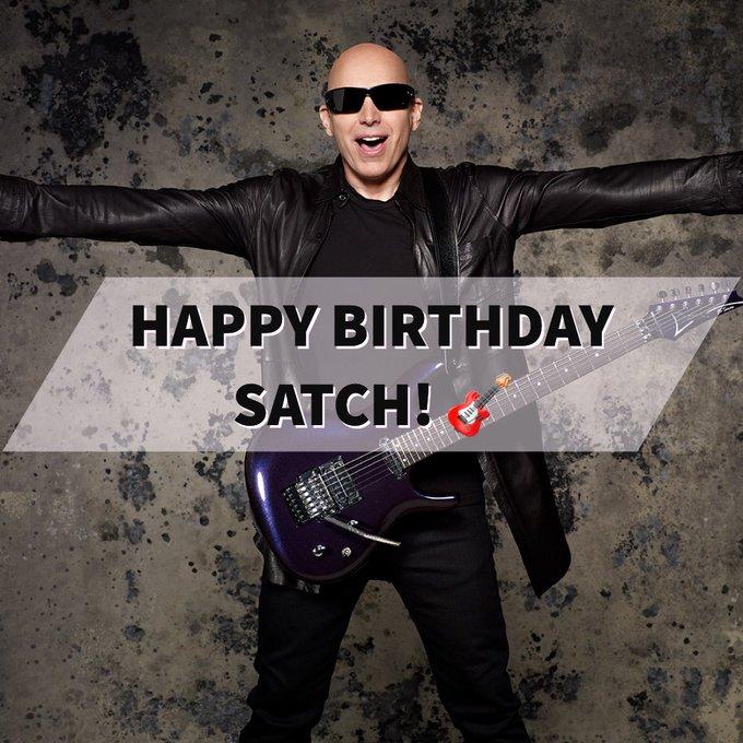 Happy Birthday to the one and only Joe Satriani!