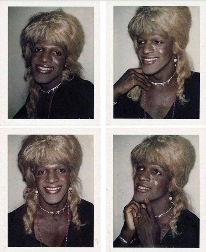 Polaroids de Marsha P Johnson y drag queens de la escena underground de Nueva York sacadas por Andy Warhol (1974) https://t.co/GzpdfaikPX