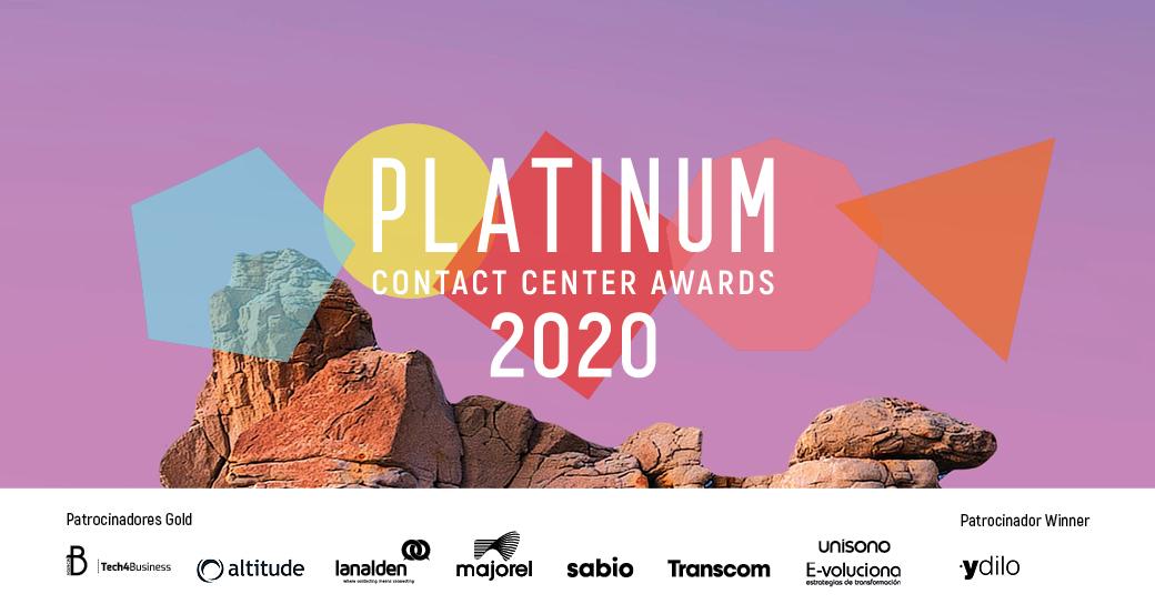 💥🎉¡Llegó el día! ¡Comenzamos con l@s ganador@s a las mejores estrategias #CX de los #PlatinumAwards20! 🎉💥Muchas gracias a patrocinadores y a participantes. @agenciab12 @AltitudeSoft @lanalden @MajorelIberia @Sabio_Spain #Transcom @GrupoUnisono #Evoluciona @ydilo_avs https://t.co/BJCnrC8r62