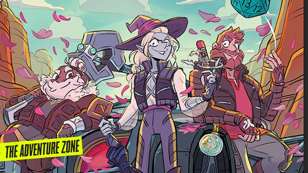 #TheAdventureZone is bringing a kick-ass graphic novel to life, and combining some of our favorite fantasy and comic elements into one delicious show. https://t.co/MKZZqQKHH1