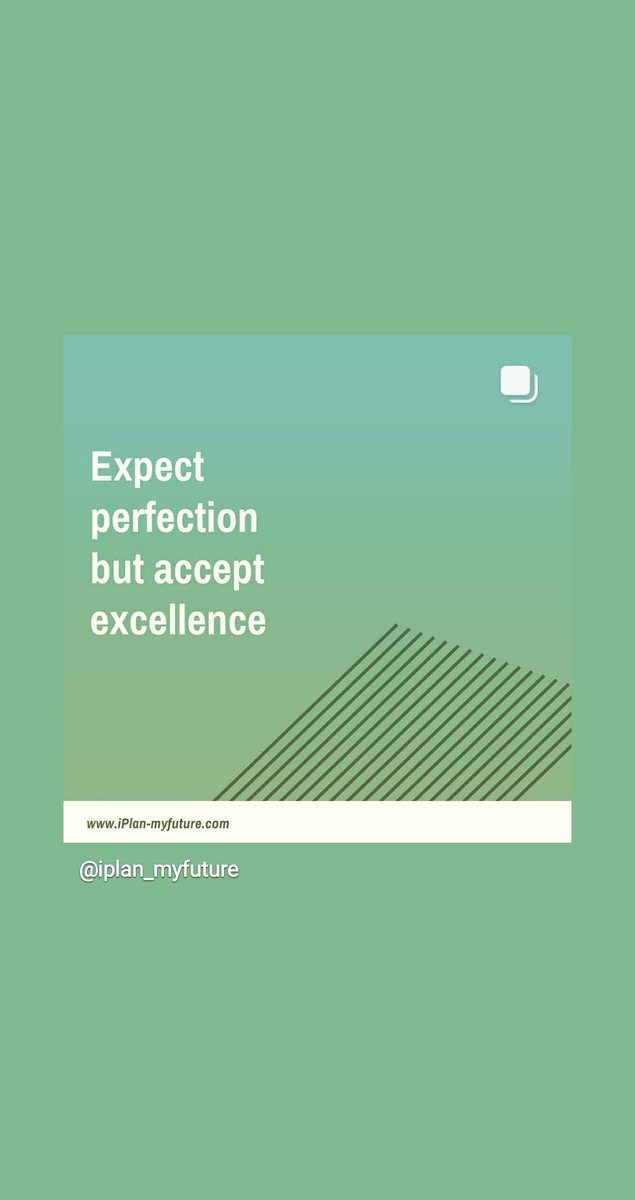 Expect perfection but accept excellence. #iplanmyfuture #hustle #bestquotesfromiplanmyfuture #successTRAIN #ThriveTogether   http:// ow.ly/PkR730qAgNY     #wednesdaymotivation  #wednesdaythoughts #entrepreneur #defstar5 #mpgvip #makeyourownlane #makeithappen <br>http://pic.twitter.com/OU1iYbmEGt