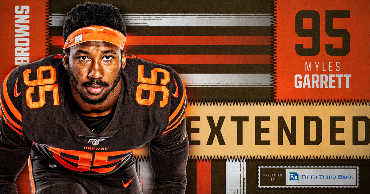 OFFICIAL❗️ @MylesLGarrett has signed a 5-year contract extension » brow.nz/9e554