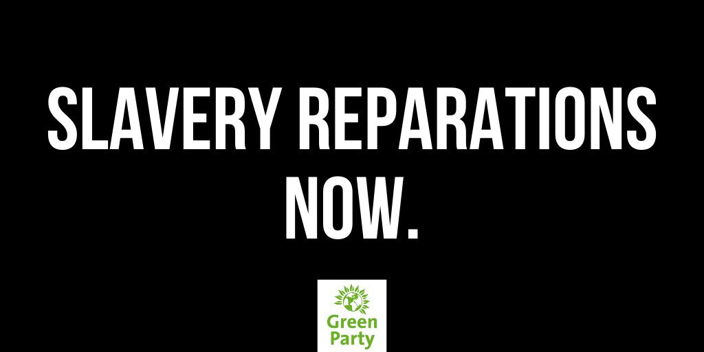 BREAKING: Greens have passed a landmark council motion calling on Government to commit to slavery reparations.  Together, we will win racial justice. #BlackLivesMatter https://t.co/RFOcR40A4n https://t.co/VKmgIhwRhH