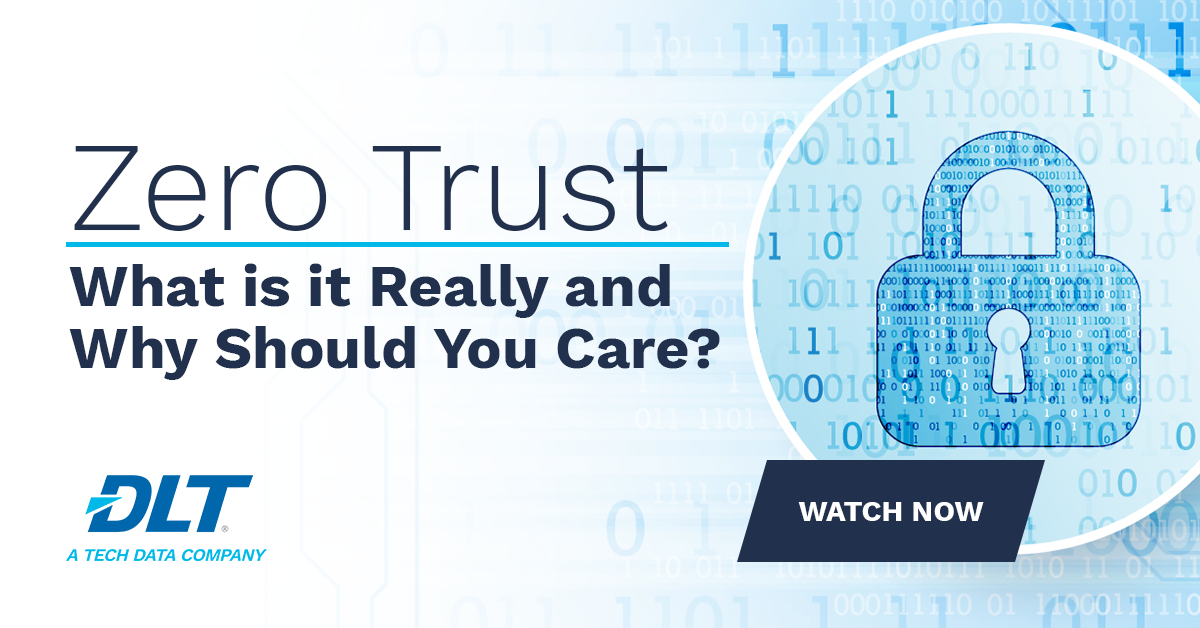 #ZeroTrust is a fairly old concept and yet a fairly new terminology in #cybersecurity still vaguely understood. But what is it really? In this Fast Five series, DLT's Don Maclean gives an overview to better explain what it really is and what it isn't. https://t.co/QMM7WP99nu https://t.co/4XEs3TDKH8