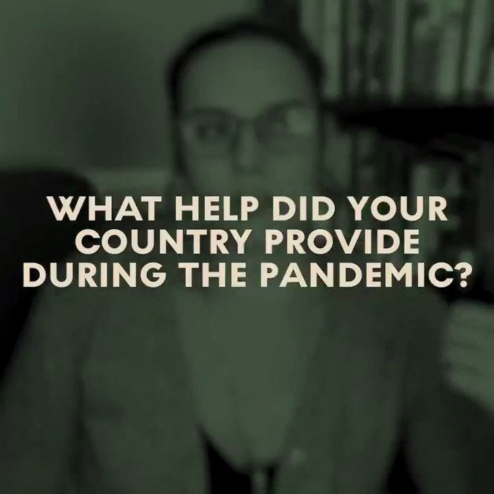What help did your country provide during the pandemic? 🤔  Let us know in the comments! https://t.co/u0Bl9vtfx2