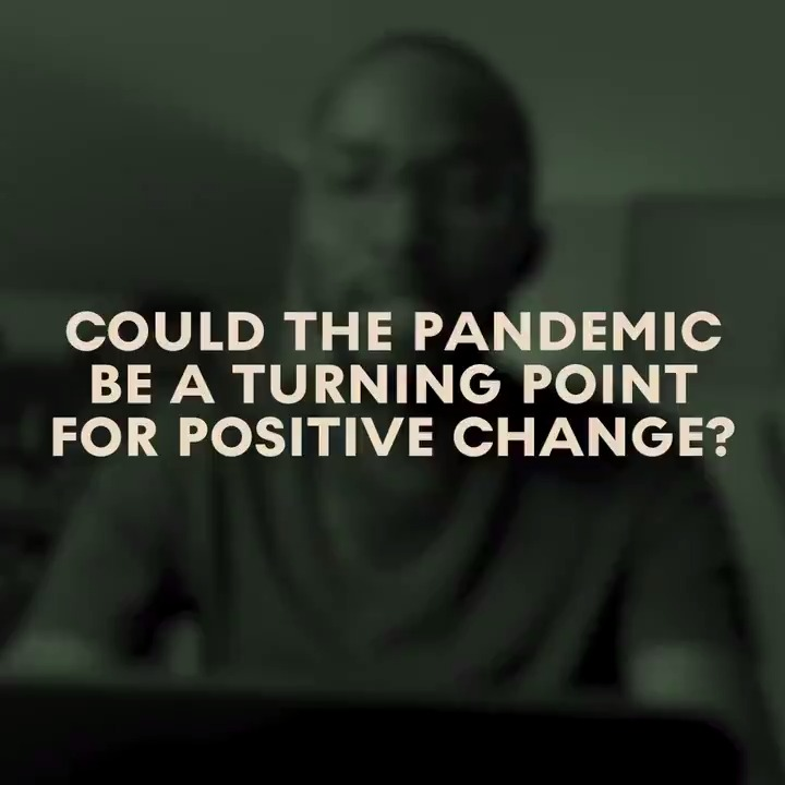 """I deeply want to believe that something positive and truly transformational will come out of this situation.""  Do you think the pandemic could be a turning point for positive change? https://t.co/Nc84wNj74V"
