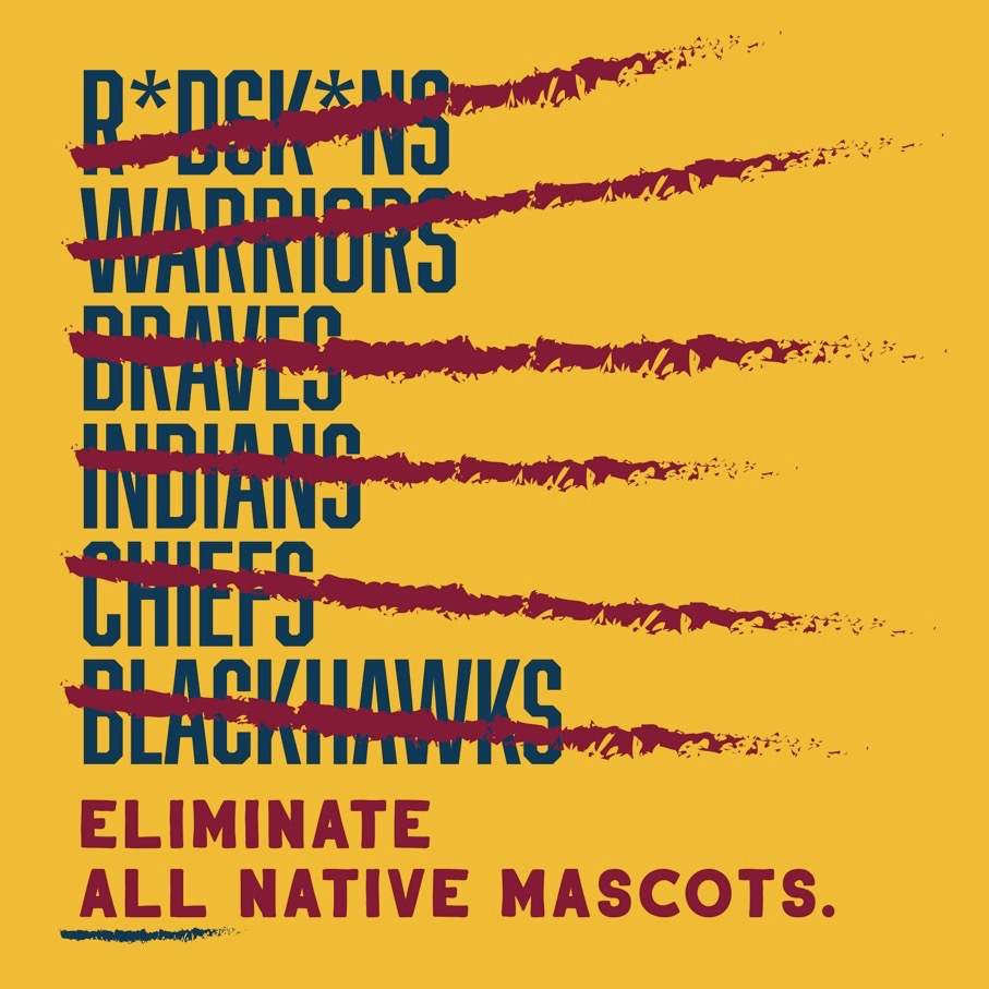 We are not equal until all our communities are equal. In support of our Native American communities, the use of Native mascot names needs to end. @Redskins@NFL#TheTimeIsNow https://t.co/3ZSmNhCZFa