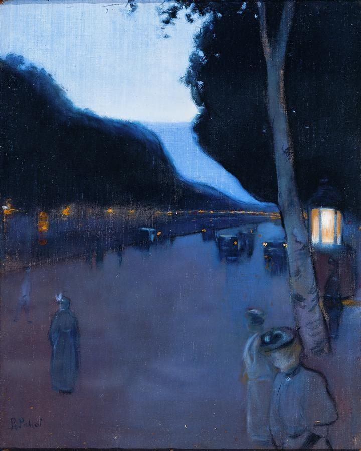 Paris Boulevard by Ramon Pichot  , 1898 https://t.co/pOaTjILj4H