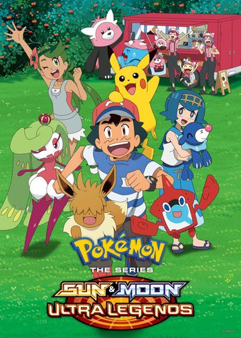 Weird fact: this poster from Pokémon Sun and moon Ultra legends, while not used often in promo material, was still consistently changed to add the rest of the main cast, and even was updated for Misty and Brock, Hau, and Eevee's haircut. pic.twitter.com/6TOurs6yEx