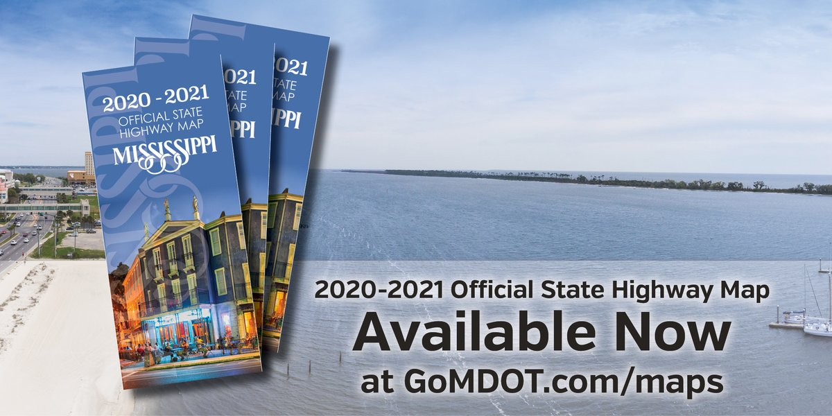 Navigate your way around the state with the 2020-2021 Official State Highway Map from @MississippiDOT .  FREE copy-https://t.co/ac9YKvy7E8 #MShwys
