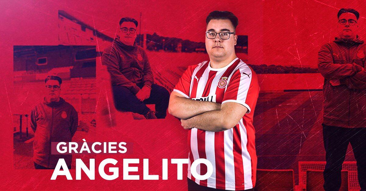 Angelito98 no continuarà com a jugador del Girona FC eSports la pròxima temporada.  Moltes gràcies i molta sort en el futur!  — #GironaFCpic.twitter.com/Yz4OvBJjHz