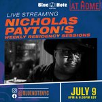 Image for the Tweet beginning: Tonight Blue Note at Home