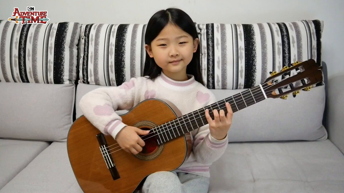 We loved collaborating with 6-year-old musical sensation Miumiu on this Adventure Time Island Song cover 🎸🌟🏆  A beautiful song by a beautiful young soul 💖  Check out her music: Instagram: miumiuguitargirl   Youtube: Miumiu Guitargirl