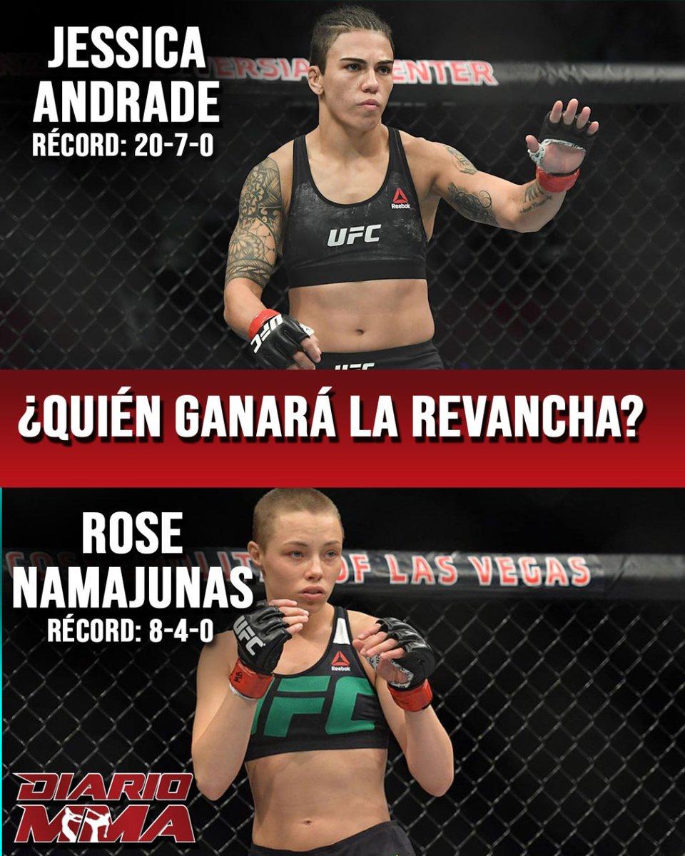 La pelea de #UFC251 que ha pasado desapercibida... ¿Quién se lleva la revancha? #Jessica #JessicaAndrade #BateEstaca #Rose #Namajunas #ThugRose #revancha #DiarioMMA https://t.co/AFdYJ2jqeC