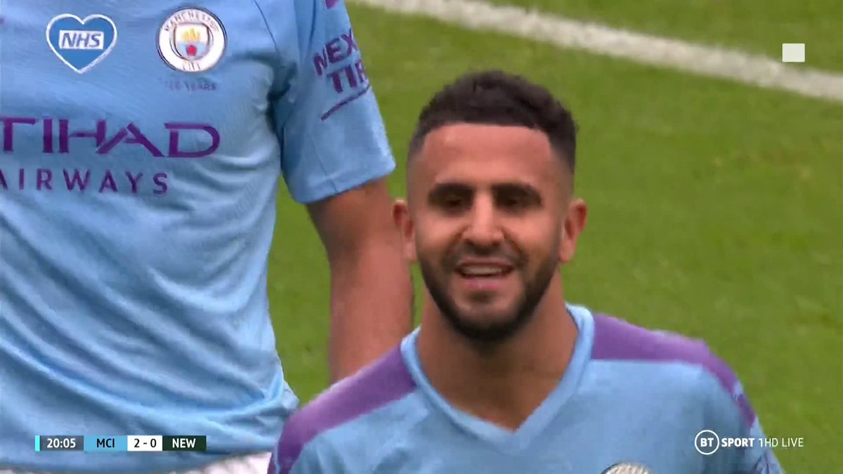 Two goals inside the first quarter of the match for Man City ⚡️⚡️ Mahrez now has 🔟 Premier League goals this season ⚽️ De Bruyne now has 1️⃣8️⃣ Premier League assists this season! 🧙♂️