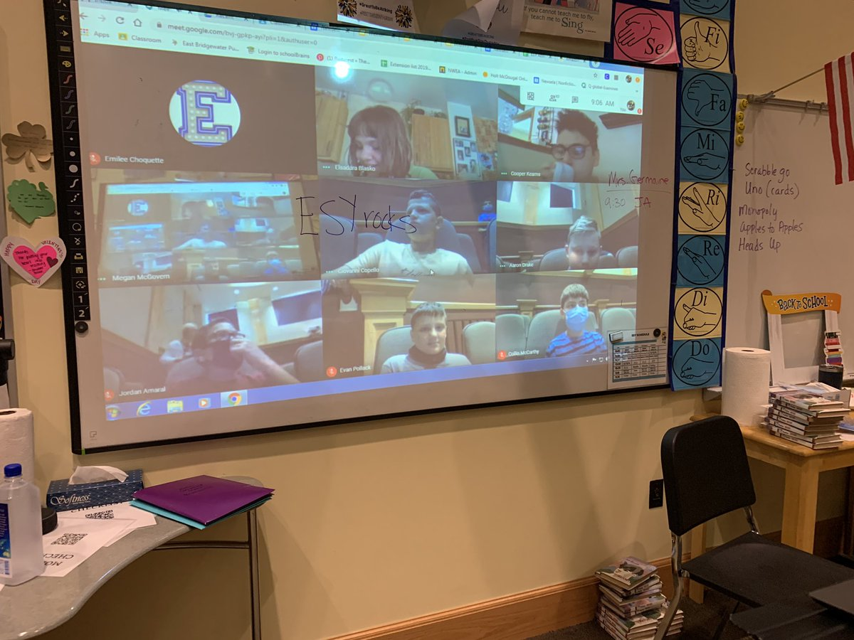 Remote and in school collides at ESY. @jgriffin_89 @mstelless #MakeItHappen