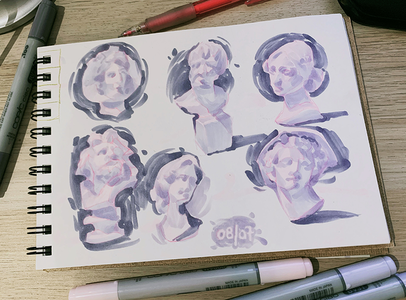 more pwactise#copicmarkers pic.twitter.com/x4Cekat9sI