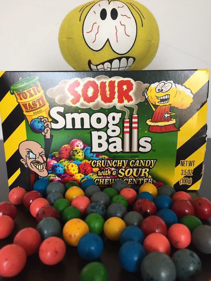 Did you know.... You can purchase Sour Smog Balls on our website?!??  https://t.co/xZg5bTCiTe #sourcandy #toxiwastecandy #sour #candy #orderonline #smogballs https://t.co/MeovuO6qUz