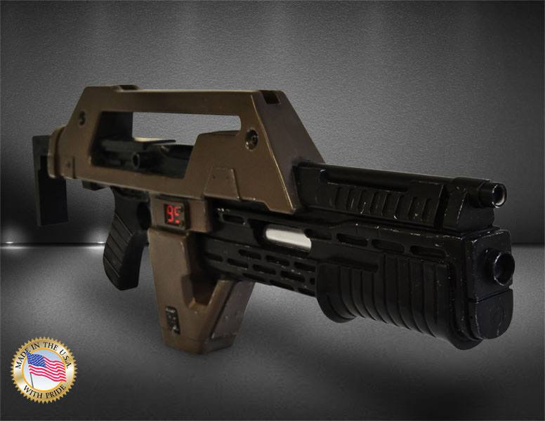 Si alguien tiene una mata bichos mejor que levante la mano. #Aliens Replica 1/1 Hero Pulse Rifle Brown Bess Weathered Ver. 68 cm #JamesCameron pic.twitter.com/ygvGTtX74E