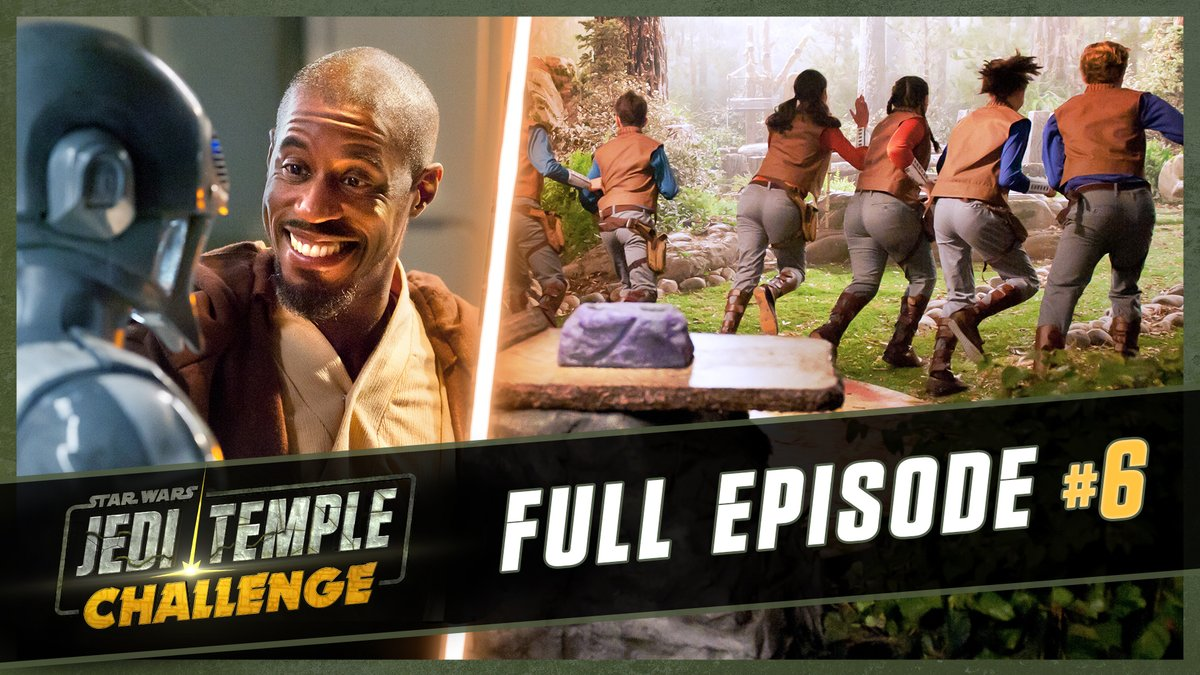 Young Padawans tackle the Jedi trials on a brand new episode of #JediTempleChallenge starring @AhmedBest. Watch now on Star Wars Kids: strw.rs/6008GTT7Y