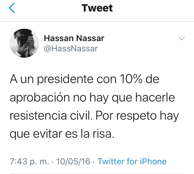 @JuanPabloCalvas Irresponsable Ud. https://t.co/Gt0Mnc7vZy