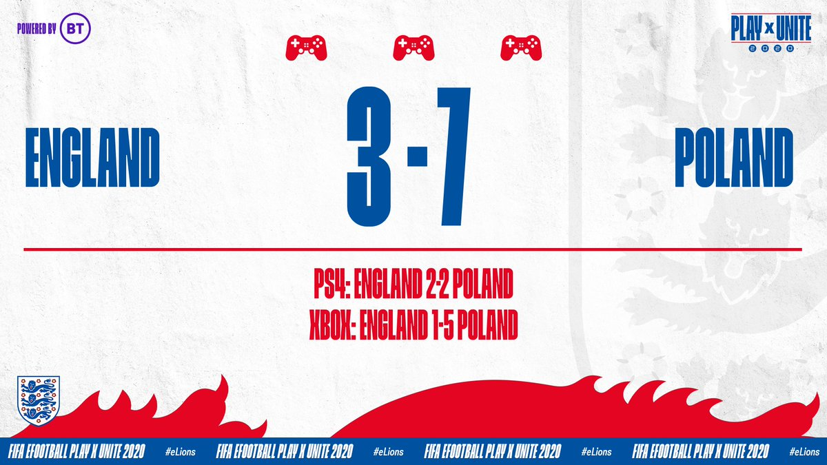 It's all over for our #eLions at #PLAYxUNITE2020, as Poland take the win to progress to the final.  Hard luck, @Tekkz and @HashtagTom_! https://t.co/eetUDCHPTG