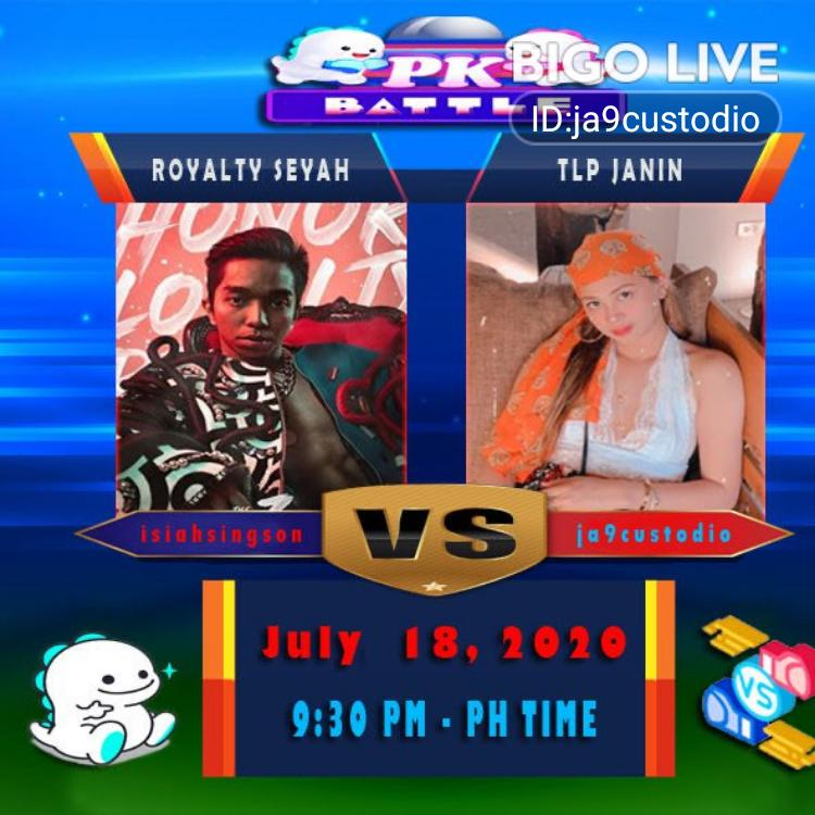 Come and see ᵗˡᵖJanin's LIVE in #BIGOLIVE:    https://slink.bigovideo.tv/5ye6UHpic.twitter.com/lT5Uew9UUu