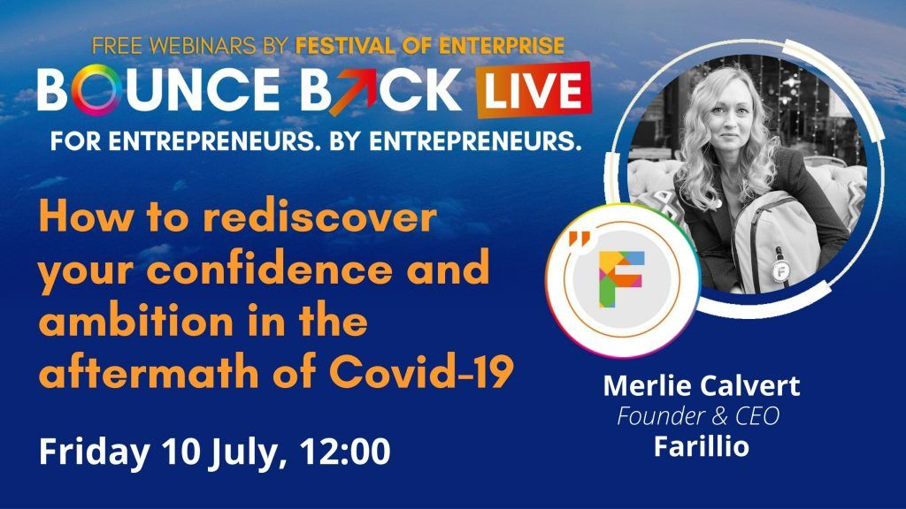 We're delighted to be taking part in a #webinar with the #FestivalofEnterprise on how to rediscover your confidence and ambition in the aftermath of Covid-19. It's on July 10th at 12pm and you can save a seat from now!... hopefully we'll see you there 📺https://t.co/LSMNjiAEDS https://t.co/iQfpq9y0JW