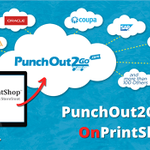 Image for the Tweet beginning: OnPrintShop has aligned with PunchOut2Go