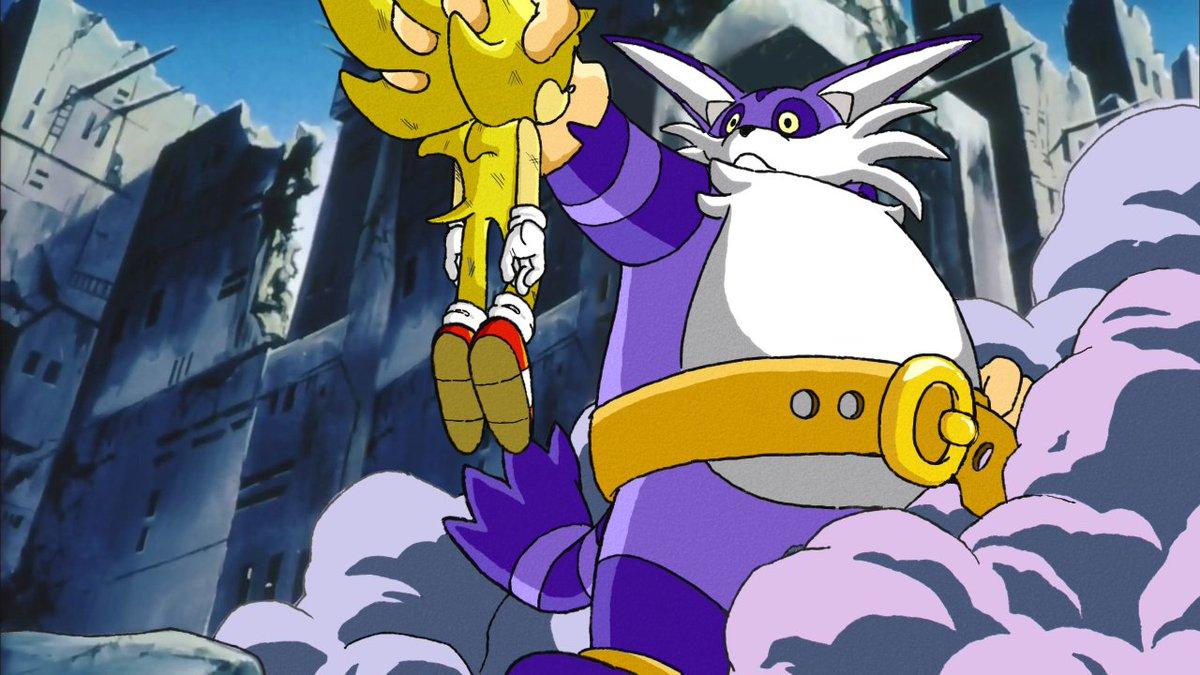 Broly is a pretty BIG guy #SonicBallZRedraw https://t.co/8zLpphiijT