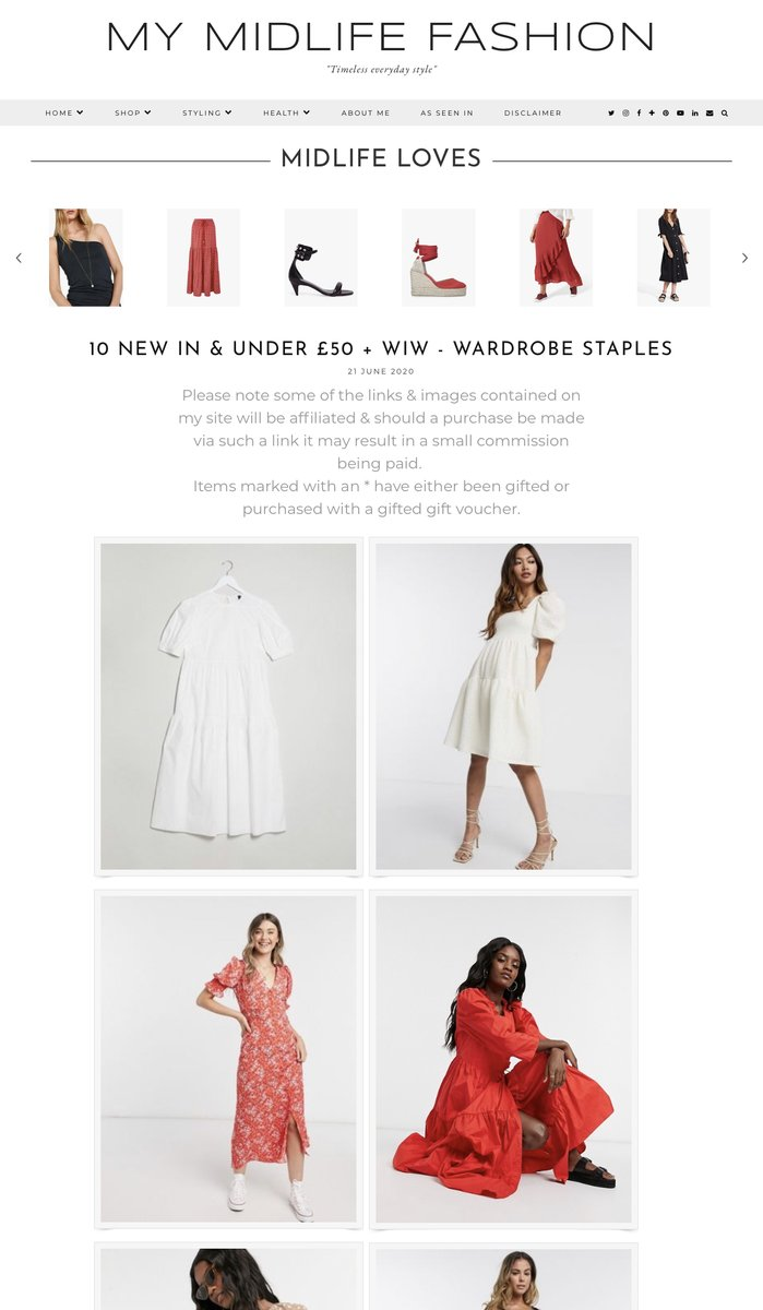 New in & under £50 - top picks for summer https://t.co/Ap31vOGkGi #summerfashion #summerstyle #whattowear #over40style #over40fashion #midlife #over40 #timelessstyle #effortlessfashion #timelessfashion #effortlessstyle #newinfashion #summerlooks #summerwardrobe https://t.co/rJuVz3xKJT