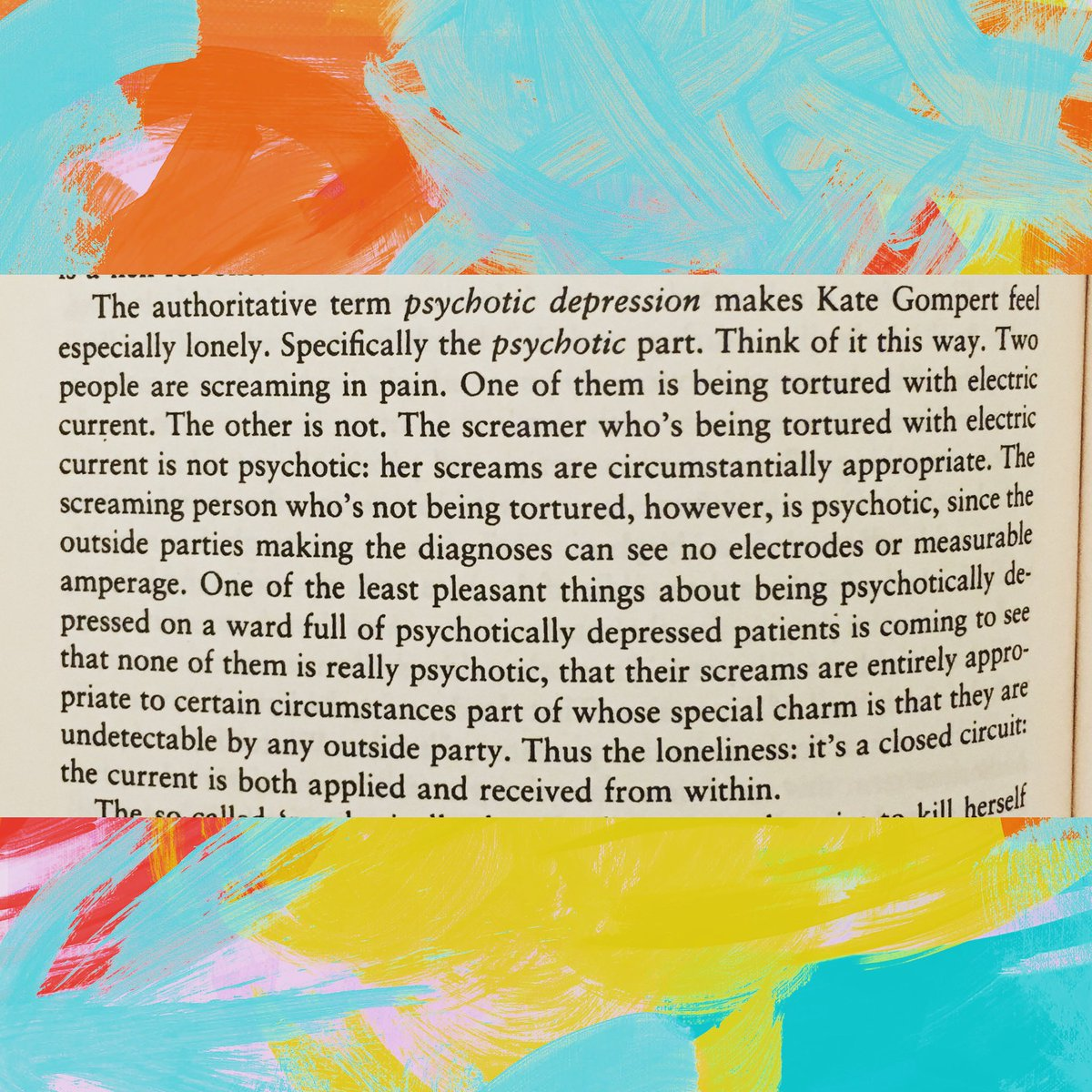 """From """"Infinite Jest"""" by David Foster Wallace #infinitejest #davidfosterwallace #quotes #depression #books #readingdavid"""