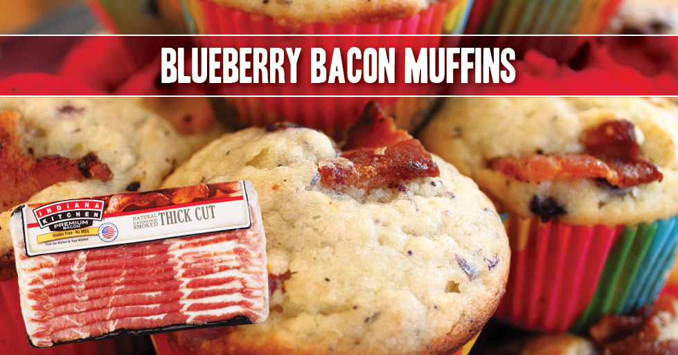 They're sweet, they're savory, and they just might be the last muffin recipe you'll ever need!  Get recipe: https://t.co/gSJlVH0Rhw  #RecipeWednesday #MyBrandIsIndiana #NationalBlueberryMonth #NationalBlueberryMuffinsDay https://t.co/CJK3qSfnYZ