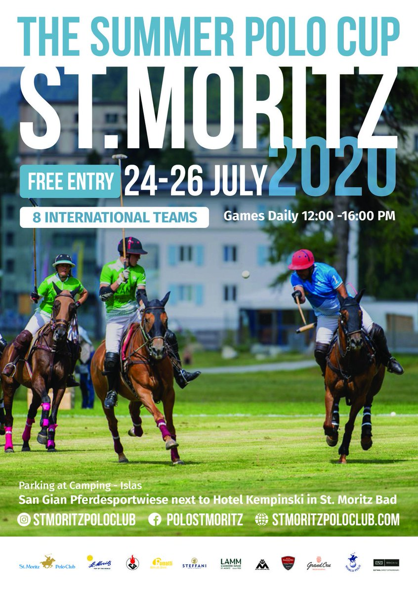 Thanks to the St. Moritz Polo Club for all their hard work putting together an extraordinary event. Learn more at https://t.co/2Gyzg6HyfF  #summerpolo #pololife #polosport #bizav #bizjet #aviation #charter #luxurytravel #news  📸 @giancatt https://t.co/iCYS9Yqmov https://t.co/7REkME83V1