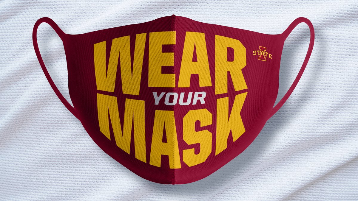 Mask up, Cyclone Nation! #FaceMasks4FallSports<br>http://pic.twitter.com/VEUsuVWwSe