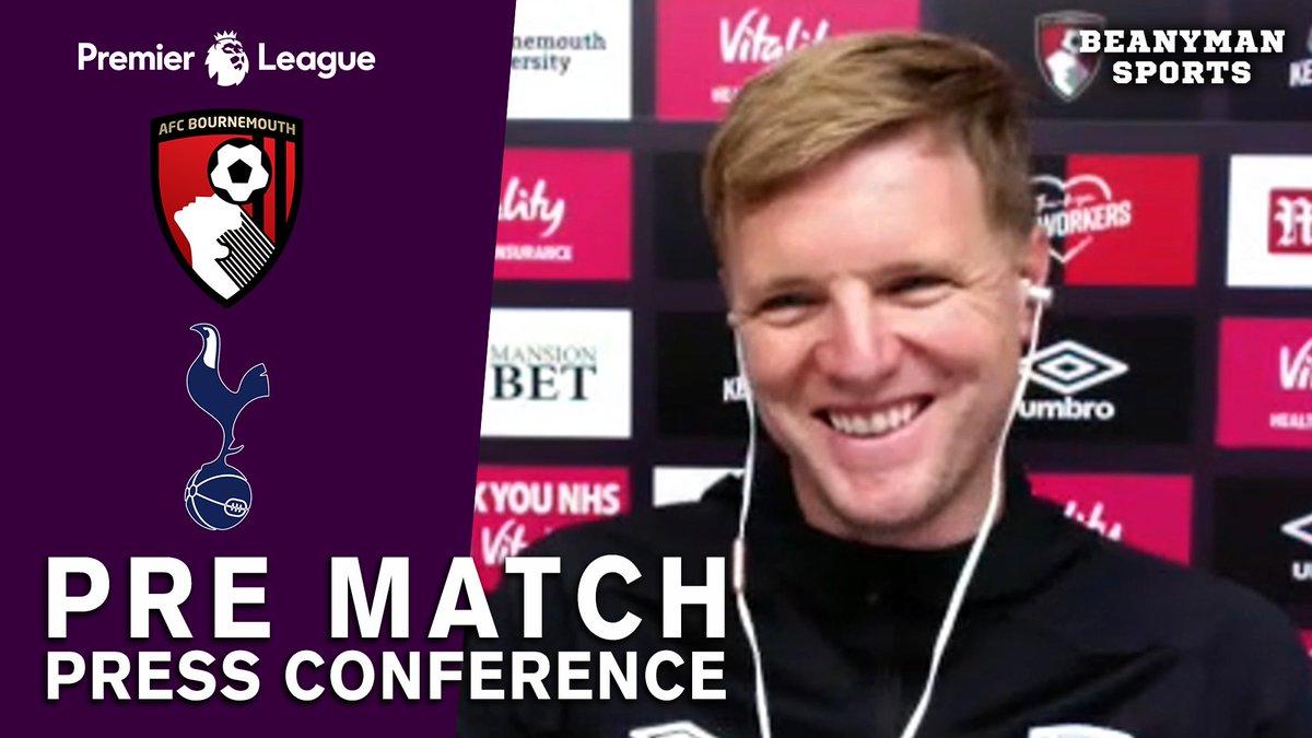 VIDEO - Eddie Howe FULL Pre-Match Press Conference - Bournemouth v Tottenham - Premier League https://t.co/xIZSrEecFV PLEASE SHARE! https://t.co/rThadOeaW6