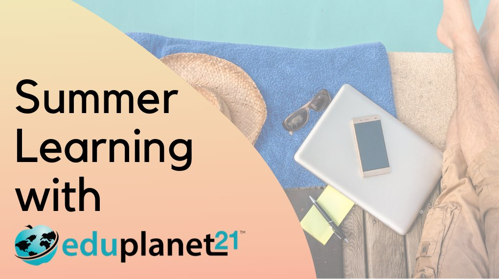 For teachers and educational leaders - Eduplanet21 has professional learning for you! Visit our Marketplace https://t.co/l1HelWvW8v to learn more. Eligible for ACT48/CTLE!  #edchat #summerlearning #professionallearning https://t.co/kld7q2xCij