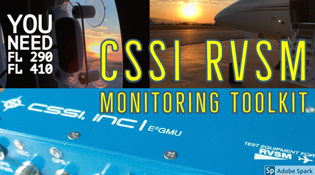 Our #RVSM E2GMU RVSM Monitoring Toolkit for #Aviation provides worldwide monitoring capability. Contact us to find your nearest provider ✈  https://t.co/grxMuPngFi   #bizav #bizjet #GPS #jato #jatoexecutive #RVSMMonitoring #pilotos  https://t.co/jMGPAEoS9J https://t.co/W0s0L6CJdN