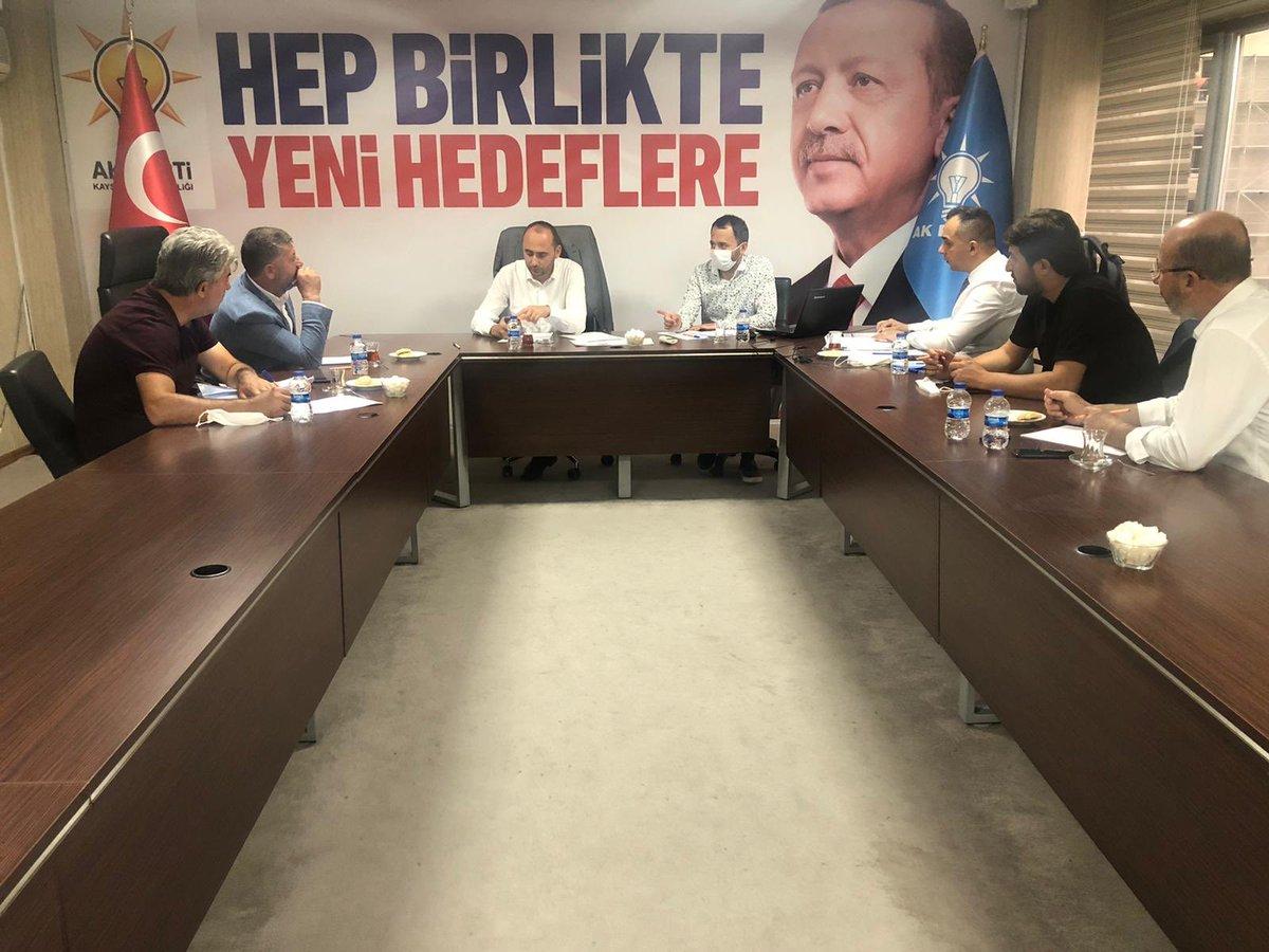 Teşkilatlardan sorumlu Başkan yardımcımız Abdulkerim Yalçın başkanlığında düzenlenen toplantıda İlçe Koordinatörlerimiz, İlçe Başkanımız ve İlçe Teşkilat Başkanımız ile Develi İlçemiz hakkında görüşmeler gerçekleştirildi. @erkankandemir @halisdalkilic @sabancopuroglu https://t.co/RqvBTAs1hp