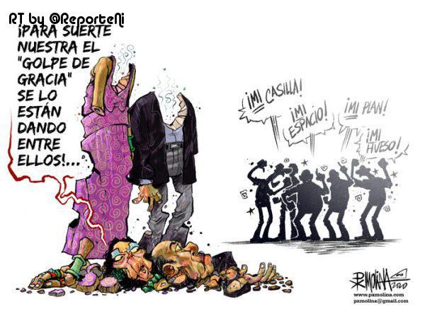 Caricatura del día | El golpe de gracia. ... https://t.co/SRErkBp6sT https://t.co/jHEQve99LW