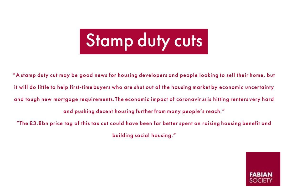 Stamp duty cuts  3/4 https://t.co/ljEuUCRjJB