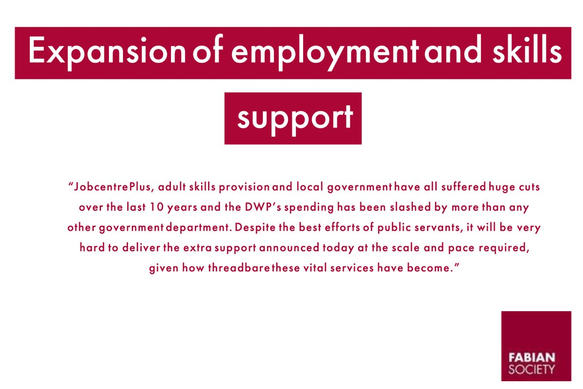 Expansion of employment & skills support  2/4 https://t.co/94LoHgxxPA